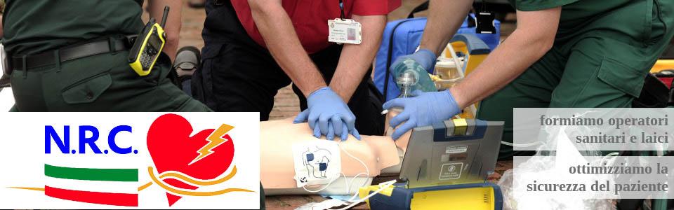 Formiamo operatori sanitari e laici. Ottimizziamo la sicurezza del paziente.